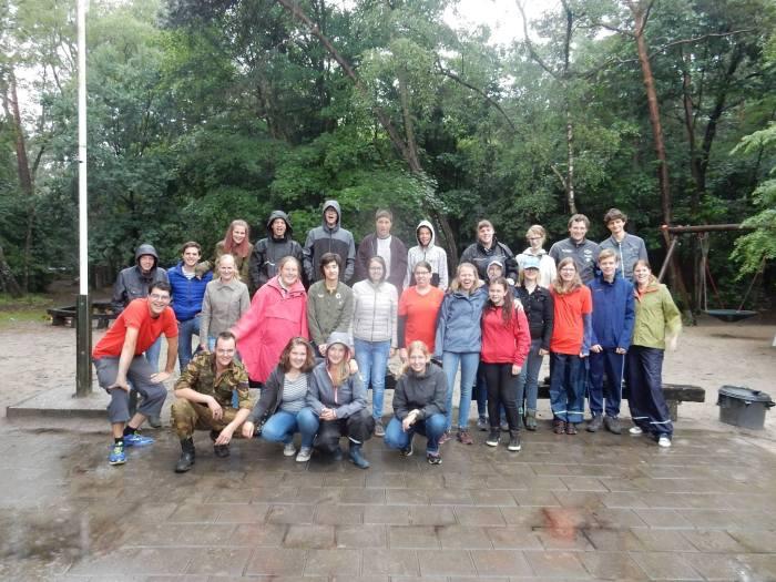 SpraakSaam groepsfoto kamp 2017